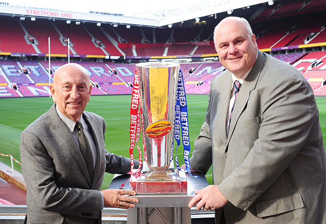 Betfred announced as new title partner of Betfred Super League