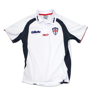 England White Players Training Polo