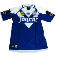 Canterbury Bulldogs away 2013 jersey