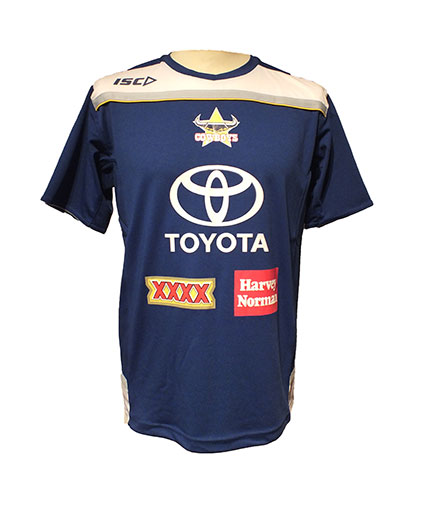 North Queensland Cowboys Blue Training T-Shirt 2012