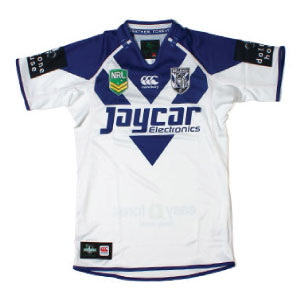 Canterbury Bulldogs Home 2013 jersey