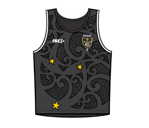 Exiles 2013 Adult Training Vest