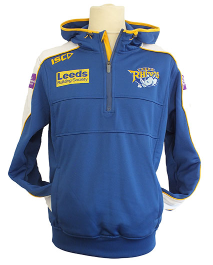 Leeds Rhinos Adult Tech Hoody