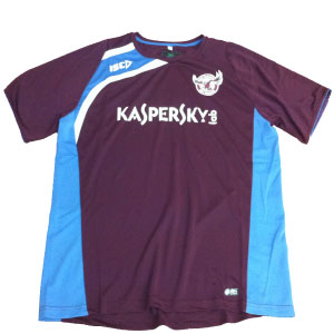 Manly Sea Eagles 2013 Training T-shirt Marron