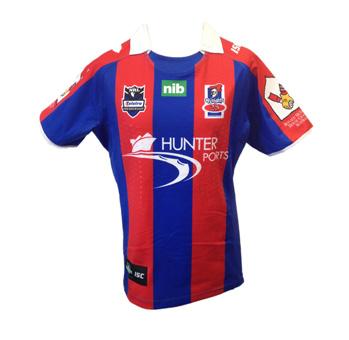 Newcastle Knights Player Issue Heritage Jersey 2012