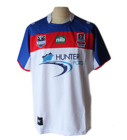 Newcastle Knights Adult Replica Away Jersey 2012