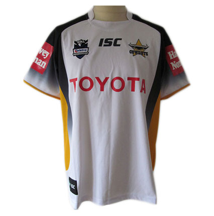 North Queensland Cowboys Adult Replica Away Jersey 2012