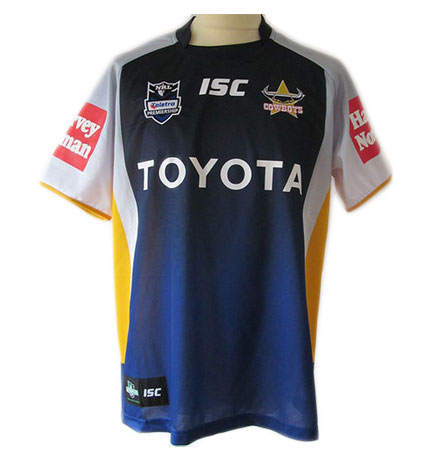 North Queensland Cowboys Adult Replica Home Jersey 2012