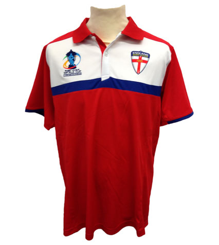 England RLWC Adult Polo
