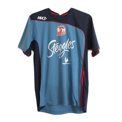 Sydney Roosters Adult Blue Training T-Shirt
