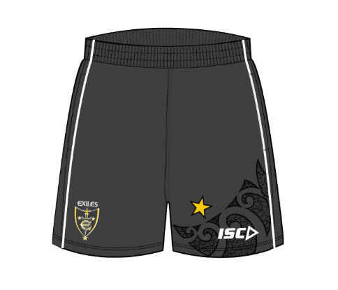 Exiles 2013 Adult Training Shorts