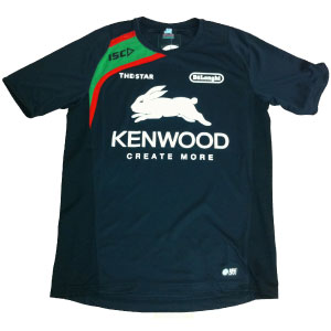 South Sydney Rabbitohs 2013 Black Training T-shirt