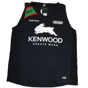 South Sydney Rabbitohs 2013 Black Training Singlet