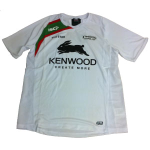 South Sydney Rabbitohs 2013 White Training T-shirt