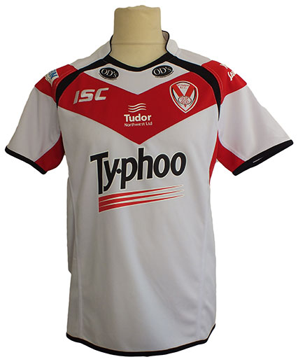 St Helens Kids Replica Home Jersey