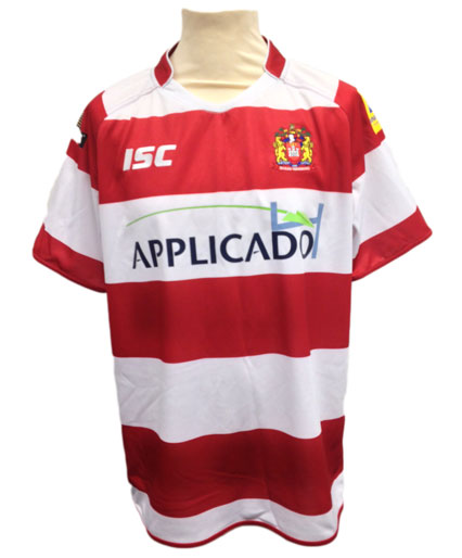 Wigan Warriors Adult Replica Home Jersey