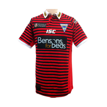 Warrington Wolves Adult Cotton Away Jersey 2012